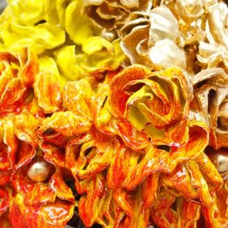 detail van bloementorso