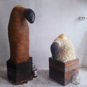 Sculptuur van Jordan Herregraven